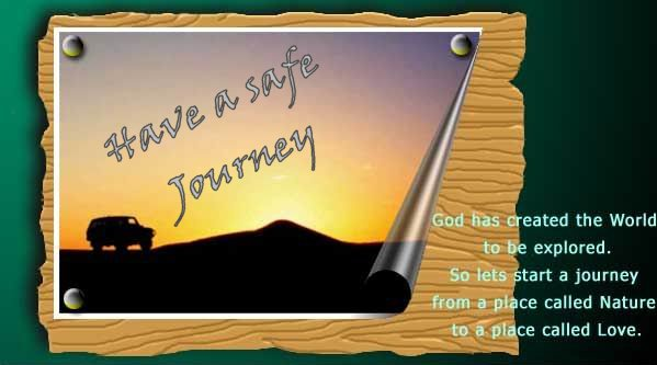 Happy journey quotes greeting cards